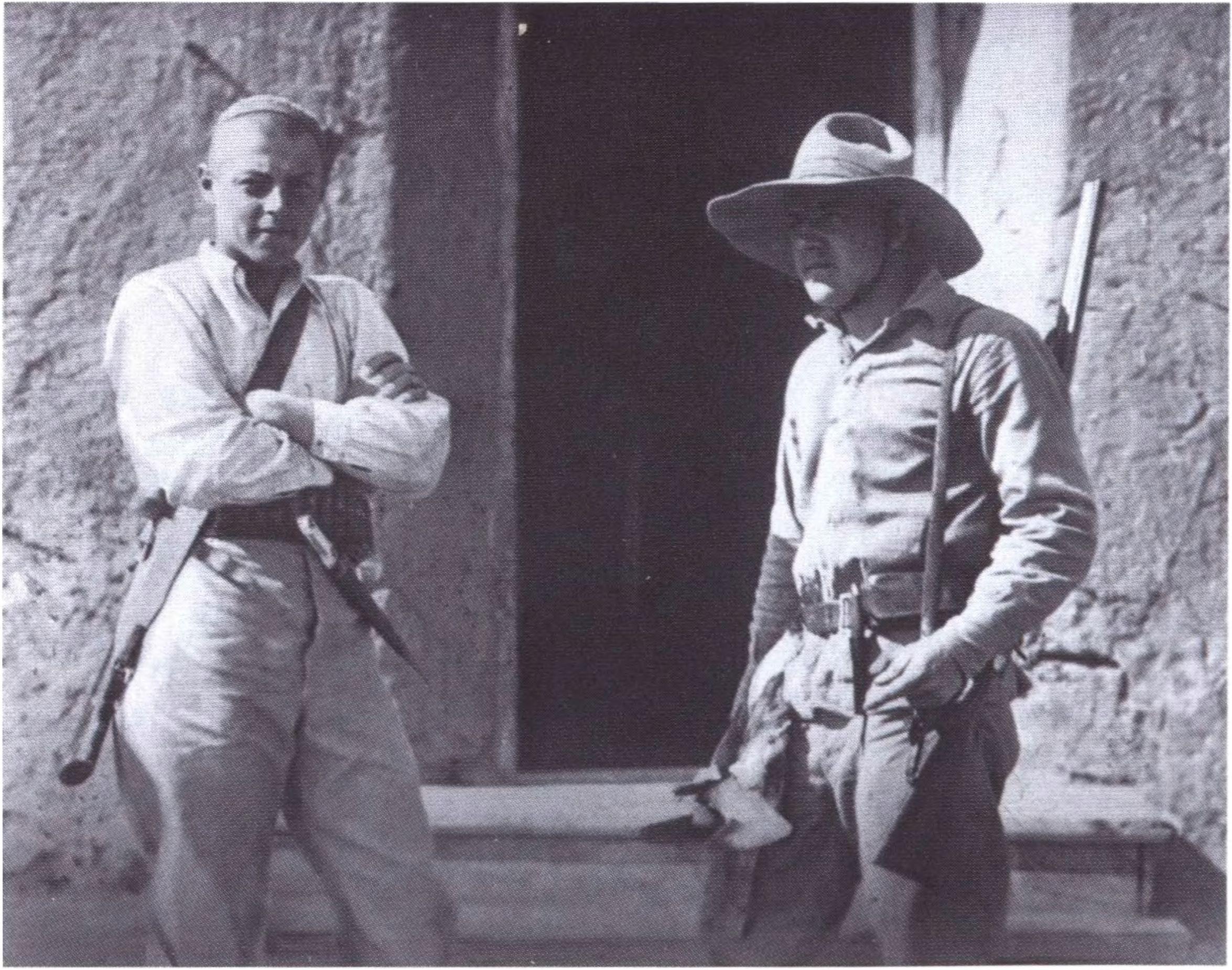 И.А. Ефремов и Б.К. Пискарёв. Тургайская экспедиция. 1926 год
